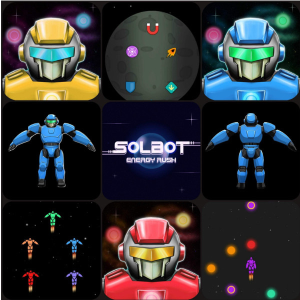 Solbot Energy Rush For Android